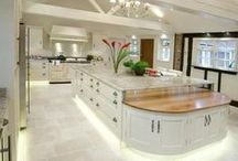 Kitchen Ideas / Here we have a collection of luxury kitchen ideas for those looking to redesign there kitchen.