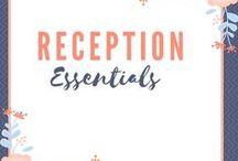 Reception Essentials / A board dedicated to essentials for your wedding reception. Find tips and inspiration to make planning your wedding reception simple, fun, and creative.