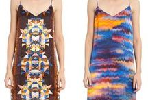 reversible / reversible printed silk contemporary womenswear