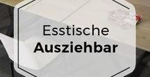 Ausziehtische aus Massivholz / Esstische zum Ausziehen aus Massivholz aus dem COMNATA Esstisch Onlineshop!