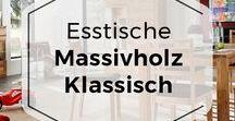 Klassische Esstische aus Massivholz / Esstische aus massiven Holz z.B. aus Eichenholz finden Sie im COMNATA Onlineshop