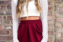 Clothes / I wish I had more money so I could afford nicer, cooler clothes. #fashion at its best.
