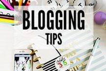 Blogging Tips / Hints and tips for blogging and social media