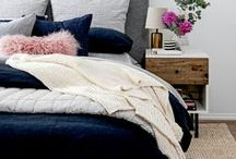 Trendy Bedrooms / A compilation of beautiful, stylish bedrooms. Pin your favorite bedrooms with us!