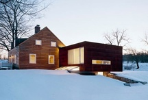 Getaway Houses: Ski Lodge / Ideas for our summer-to-winter vacation house if we choose a mountain region.