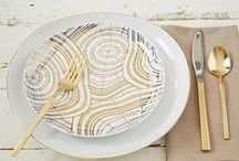 Modern Thanksgiving / This started for Dwell Studio's terrific Pintercontest in 2012 and I just kept going with it!