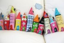 DIY textiles & fabric artworks