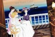 """Titanic / The best way to respect and honor those who gave their lives is to simply tell their stories.  I first heard of the Titanic while having tea with my Mother as we were crossing the Atlantic from NY to Southampton. Have been interested in it for years and after much research combined it with my love of tea and wrote the book """"Tea on the Titanic""""."""