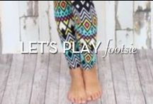 Let's Play Footsie / Leggins, Socks, Tights, Anklets....all things legs / by Blowfish Shoes