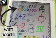 MATH / Math centers, guided math, games, ideas, activities, projects, and inspiration for the elementary classroom