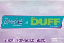 The DUFF Movie / The DUFF comes out February 20, 2015! A high school senior instigates a social pecking order revolution after finding out that she has been labeled the DUFF (Designated Ugly Fat Friend) to her prettier more popular friends. / by Blowfish Shoes