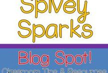 Spivey Sparks Blog Spot! / I love collaborating with teacher colleagues and sharing tid-bits I've picked up along my journey.