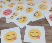 EMOJIS IN THE CLASSROOM / Emoji classroom decor, lesson plans, activities, accessories, and more for incorporating Emojis into the elementary classroom in a variety of ways.