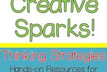 Creative Thinking Sparks / These Spivey Sparks resources will spark deductive reasoning, logic reasoning, and creative thinking!  These activities are geared towards 1st grade, 2nd grade, 3rd grade, 4th grade, and 5th grade.  Come check them out!