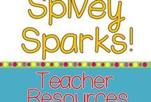 Spivey Sparks Teaching Resources / Hands-on learning with science, writing, social studies, and math content in mind is easier with Spivey Sparks resources.  STEM, STEAM, Writing Workshop, Reading Workshop, and Differentiation help learning more authentic.  Come check them out!