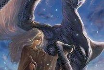 Elfen/Menschen und Drachen
