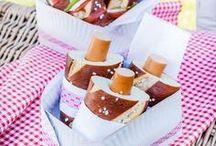 Picknick/Snacks für unterwegs / Leckere Snacks für Kinder für unterwegs.