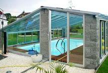 Bazén ve stylu / Inspirace na stavby bazénu a zastřešení.