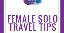 Solo Female Travel Tips / Top tips & hints for Solo Female Travel from solo female travellers. Travel | First time Solo Travel | Travel Tips | Female Travellers | Best destinations for solo travel | #solotravel | #solo To join please follow Becky the Traveller and email beckythetraveller@gmail.com. Pins relating to solo female travel tips only. No general travel tips/food/packing/hotel etc. Any not on topic will be deleted (Repeat offenders will be deleted!). Vertical pins with text only. 5 per day. Repin one for one :)