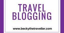Travel Blogging Tips / Top tips for any travel blogger. New bloggers, starting a blog or just want to improve this is the place for you. How to pitch to brands? | Sponsored posts - what are they and how do you find opportunities? | Blogging tips for your website and social media | How to get on press lists | Travel conferences - tips for bloggers | Useful apps | Money management | Starting a blog | #travelblogger | #travel | #digitalnomad