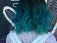 por mais cabelos coloridos // hair colors