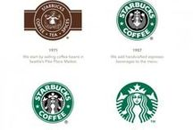 Logoredesign / Hier pinnen wir redesignte Logos, die uns gefallen oder die uns inspirieren.  A Pinboard of redesigned Logos we love / redesigned of Logos that inspire us.