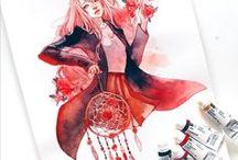 Art / Rysunki skończone, inspiracje, anime i inne