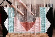 Tissage / Weaving / Le tissage dans tous ses états. Inspirations tissages de Catalina Atelier.