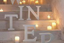 """Winter Wonderland / """"L'inverno è il tempo del conforto, del buon cibo, del tocco di una mano amica e di una chiacchierata accanto al fuoco: è il tempo della casa"""". ❄️"""