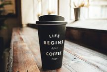 Coffee addict / Happiness is... A cup of coffee!