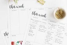 Free printable / I planner sono la soluzione perfetta per organizzare le tue giornate e soprattutto le tue to do list. In questa bacheca ne troverai tanti da stampare gratuitamente... Sono certa troverai quello giusto per te!