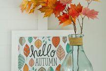 Fall Home Decor / Idee e decorazioni per vestire la tua casa d'autunno!
