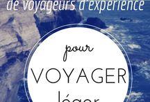 Voyager minimaliste