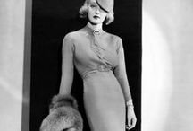 30s-40s vintage fashion