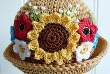 Crochet/Knit Hats 'n Scarves / by Denise Wade