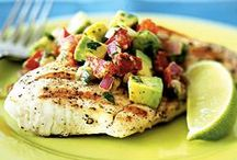 Meat/Fish Recipes (healthy)