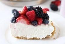 <3 Cheesecake  / 2 of my favorite foods, cheese and cake  / by Kimberly Berard