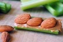 <3 Healthy Snacks  / by Kimberly Berard