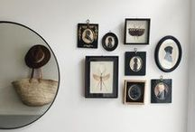 C U R A T E / Wall arrangements and curating collections