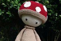 lalylala / crochet cute figures