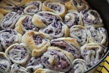 """<3 Cinnamon & Sticky Buns / """"They are delicious."""" - My husband, Matthew   / by Kimberly Berard"""