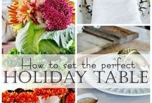 Simplified Holidays! / From recipes, to decor, gifts and wrapping, hosting a party, or even out of town guests. From planning to celebration, we have the inspiration for the best Holiday ever!