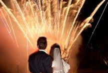 Weddings and Celebrations / Beautiful fireworks and special effects for your big day