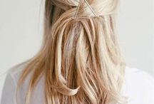 { Hairdos } / Hair inspiration.