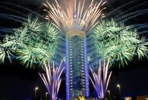 Structures and Buildings / Out of the Ordinary Fireworks and Pyrotechnics from a variety of buildings and structures across the globe