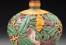 Decorative Art / Pottery, glass, metalwork, carving and other objects d'art.