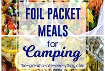 DINING|| Camping / Heading on a camping trip? Stocking up on your favortie camping recipes can make or break it. Check out some of the absolute best camping recipes and tips for your next camping adventure!