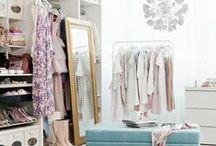 Closets / interior design, closets, organization, closet design