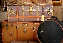 Suitcases & Trunks / by Rebecca