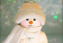 Christmas Santas & Snowmen